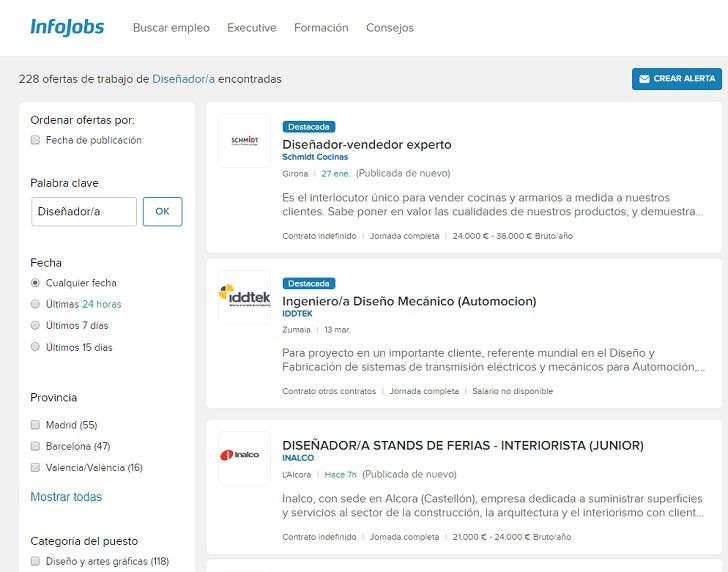 ofertas de empleo infojobs